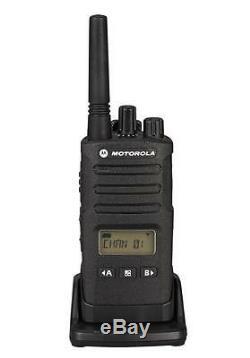 1 Motorola RMU2080D UHF Two Way Radio Walkie Talkie with PTT Earpiece Ships Fast