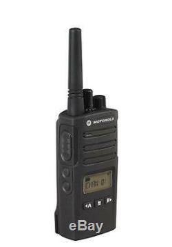 1 Motorola RMU2080D UHF Two Way Radio Walkie Talkie with Speaker Mic Ships Fast