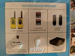 1 Pair Motorola Talkabout Waterprooof, Floating, Two-way Radio, Walkie Talkie
