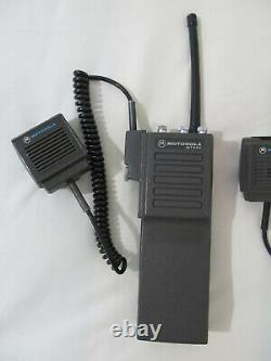 2X Motorola MT500 Portable Radio Ghostbusters Cosplay Prop AS IS UNTESTED