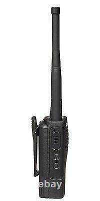 2 Motorola RDX RDV5100 5 Watt VHF Business two-way radios
