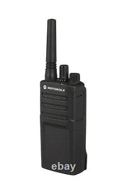 2 Motorola RMU2080 Two Way Radio Walkie Talkies 2 Watt 20 Floor Range NEW