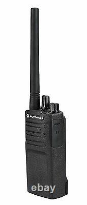 2 Motorola RMV2080 2 Watt VHF Business Two-way Radios. NOAA Weather