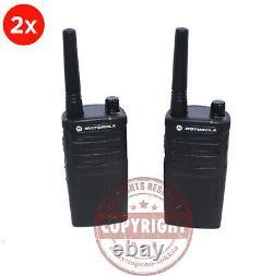 2 Motorola Rmm2050 Two Way Radio, Surveying, Topcon, Sokkia, Trimble, Leica, Pair