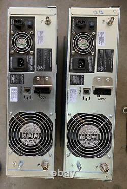 (2) Motorola XPR8400 VHF repeater 100 watts
