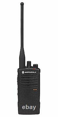 6 Motorola RDU4100 4 Watt UHF Business Two-way Radios & Bank Charger