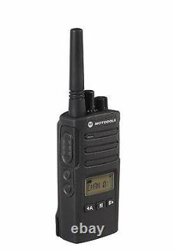 6 Motorola RMU2080d 2 Watt UHF Business Two-way Radios & Bank Charger