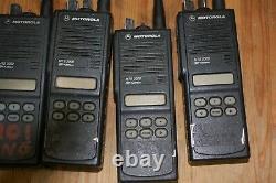 LOT OF 7 Motorola MTS2000 Model II Portable 2 Way Radio H01UCF6PW1BN