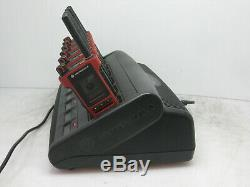 Lot of 6 Motorola two-way radio MTP8500EX 800MHz With WPLN4211B IMPRES Charger