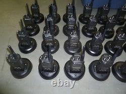 Lot of SEVENTY Motorola CP185 435-480 MHz UHF Two Way Radio AAH03RDF8AA7AN