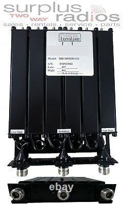 MICRO UHF 450-470MHZ 50W Repeater Duplexer N CONNECTOR Motorola GR1225 GR500