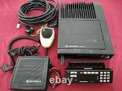 MOTOROLA ASTRO SPECTRA W7 VHF P25 DIGITAL TRUNKING MOBILE RADIO 110w COMPLETE