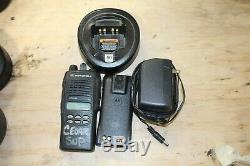 MOTOROLA HT1250 VHF 136-174MHz Two-Way Radio AAH25KDF9AA5AN With Charger