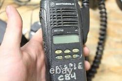 MOTOROLA HT1250 VHF Two-Way Radio AAH25KDF9AA5AN With Battery CHARGER