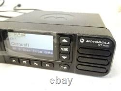 MOTOROLA MOTOTRBO XPR 5550e AAM28JNN9RA1A VHF 136-174 MHz DIGITAL TWO WAY RADIO