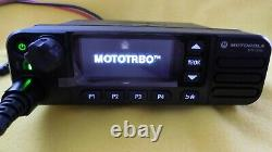 MOTOROLA MOTOTRBO XPR 5550e UHF 450-512 MHz, DIGITAL TWO-WAY MOBILE RADIO