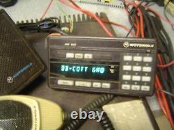 MOTOROLA SYNTOR X9000 UHF RADIO 100W 450-470 MHz TESTED