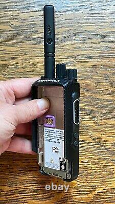 MOTOROLA XPR3500e AAH02RDH9VA1AN DIGITAL TWO WAY RADIO GOOD CONDITION