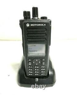 MOTOROLA XPR7550 MODEL AAH56RDN9KA1AN TWO WAY RADIO With PMNN4489A