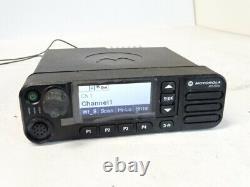 MOTOROLA XPR 5550e -UHF 450-512 MHz, DIGITAL TWO-WAY MOBILE RADIO AAM28TRN9RA1AN