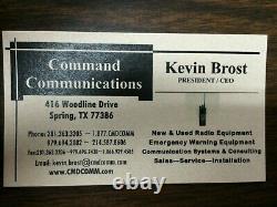 MOTOROLA XTL5000 VHF P25 DIGITAL TRUNKING MOBILE RADIO 110w NEW MIC COMPLETE