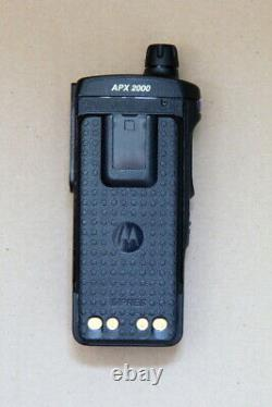 Motorola APX2000 7-800 MHz radio and battery only / Alt. To APX4000 & APX1000