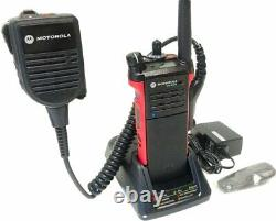 Motorola APX APX6000 P25 TDMA Digital Radio VHF 136-174MHz ADP AES H98KGD9PW5AN