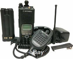 Motorola ASTRO XTS 5000 III 7/800 MHz P25 Digital Two Way Radio Commander II ADP