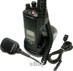 Motorola ASTRO XTS 5000 II VHF P25 Two Way Radio Smartzone AES DES ADP IMPRES