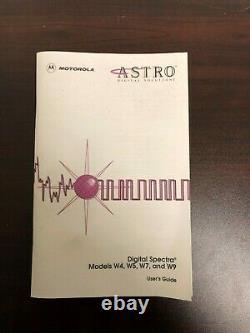 Motorola Astro Spectra and Digital Spectra FM Two way Mobile Radio