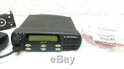 Motorola CDM1250 UHF 403-470Mhz 64Ch Two Way Mobile AAM25RKD9AA2AN with EXTRAS
