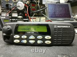 Motorola CDM1550 UHF 40 Watt 160 ConvChannel 250 Trunk 403-470Mhz AAM25RKF9DP6AN