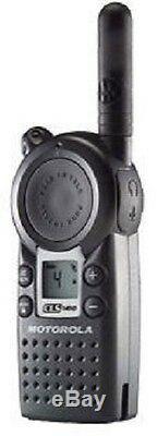 Motorola CLS1410 UHF Business Two-Way Radios 4 Channel 1 Watt- One Pair