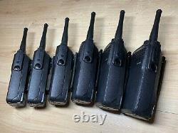 Motorola DP3400 UHF x 6 Two-Way Radios withImpres Batteries and Multi Charger