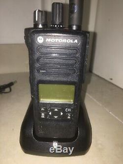 Motorola DP4600 PORTABLE TWO WAY RADIO