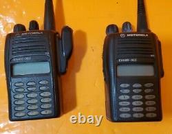 Motorola EX600 XLS Two Way Radio, Model AAH38SDH9DU6AN, VHF