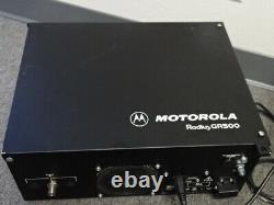 Motorola GR500 UHF (444-474 MHz) Repeater Radius R1225 M44GRC90C2AA NO DUPLEXER