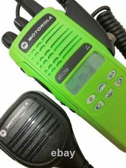 Motorola HT1250 VHF Model II Two Way Radio 136-174 MHz MDC PTT AAH25KDF9AA5AN