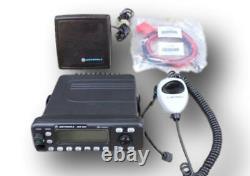Motorola MCS2000 UHF Model II 450-520 Mhz 40 Watts MDC1200
