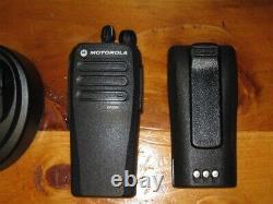 Motorola MOTOTRBO CP200d VHF Analog/Digital Portable Two-Way Radio Black