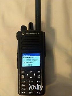 Motorola MOTOTRBO XPR 7550 Color Display Portable Digital Two-Way Radio