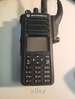 Motorola MOTOTRBO Xpr7550e UHF Digital Radio Bluetooth AAH56RDN9WA1AN TWO-WAY