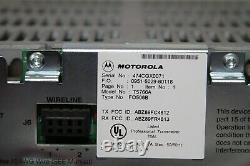 Motorola MTR2000 Repeater Model T5766A UHF 435-470MHz 100Watt with PRE-SELECTOR