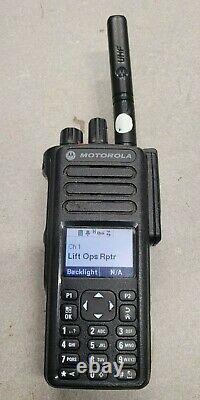 Motorola MotoTRBO XPR 7550e UHF 403-512mhz Digital Two Way Radio AAH56RDN9KA1AN