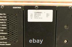 Motorola Quantar UHF 100 Watt GOLD Chassis Repeater 470-490 Mhz Range 3 V. 24