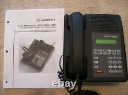 Motorola RCH3000 Two-way Radio Deskset L3030A / Power Supply & Install. Manual
