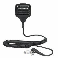 Motorola RDU4100 4 Watt UHF Business Two-way radio with HKLN4606 Remote Mic