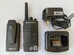 Motorola RDX RDU2020 UHF Two-way radio refurbished. 2 Watts / 2 channels