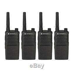 Motorola RMM2050 Professional Two Way Radio walkie talkie 4 Pack