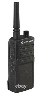 Motorola RMU2040 Two Way Radio Walkie talkie 4 Channel Military Grade 2 Pk